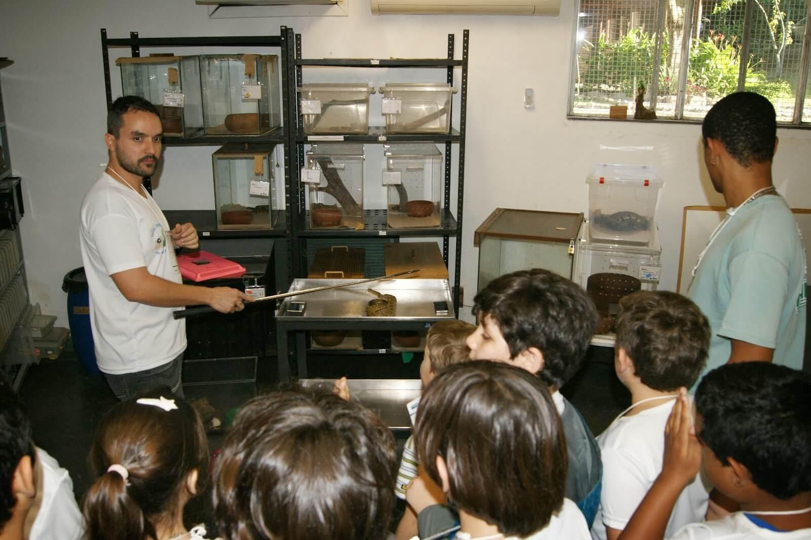 Férias Científicas no Instituto Vital Brazil
