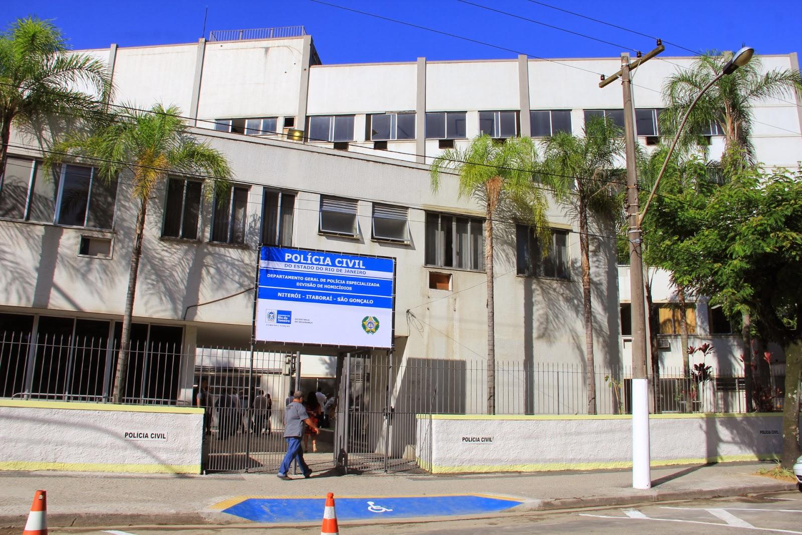 Delegacia de Homicídios vai atender Niterói, São Gonçalo e Itaboraí