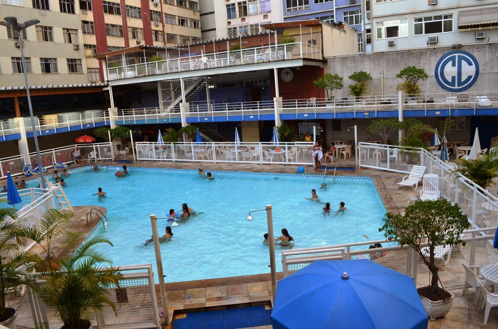 Clube Central tem programação especial de verão na piscina
