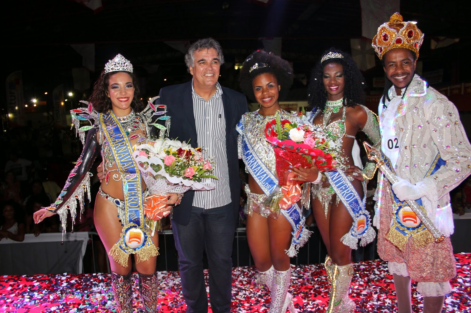 Niterói já tem sua corte momesca para o Carnaval 2015