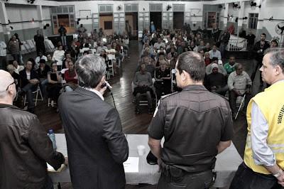 Barreto quer mais segurança e retorno da delegacia de bairro