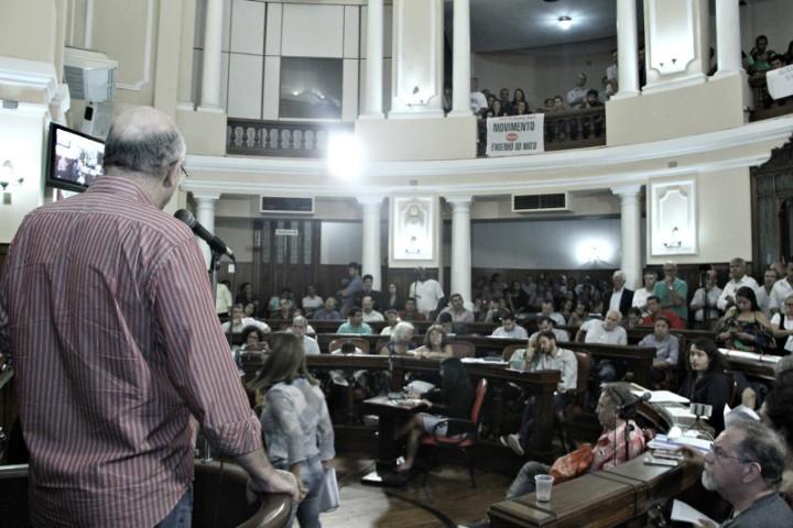Última audiência do Plano Diretor lota plenário da Câmara de Niterói
