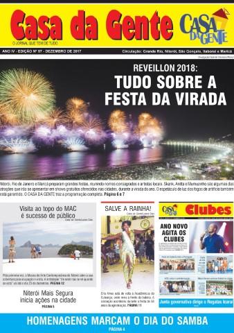 Jornal Casa da Gente – edição de Dezembro/2017