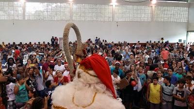 Natal da Pestalozzi: acolher e fazer o Bem