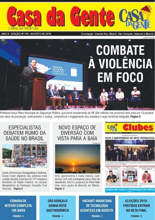 Jornal Casa da Gente – Agosto/2018