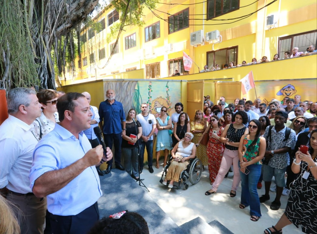 Morro do Preventório tem nova unidade de Educação Infantil