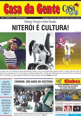Jornal Casa da Gente – Agosto/2019