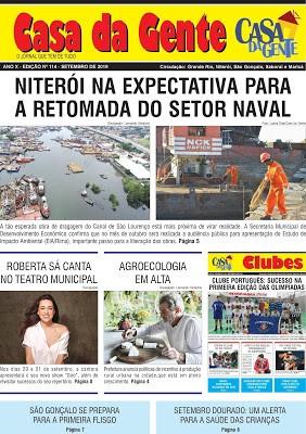 Jornal Casa da Gente – edição de Setembro/2019