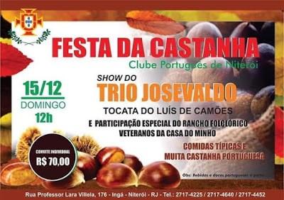 Clube Português se prepara para a Festa da Castanha