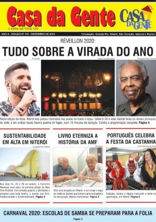 Leia o Jornal Casa da Gente de Dezembro/2019