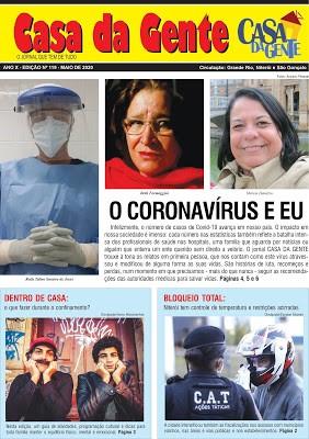 Jornal Casa da Gente – edição de Maio/2020