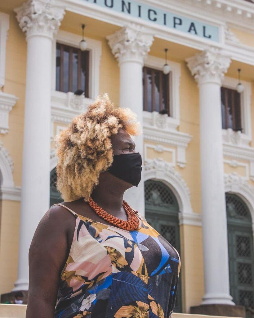 Benny Briolly primeira vereadora travesti eleita em Niteroi foto reproducao internet Conheça os vereadores que irão assumir a Câmara de Niterói em 2021