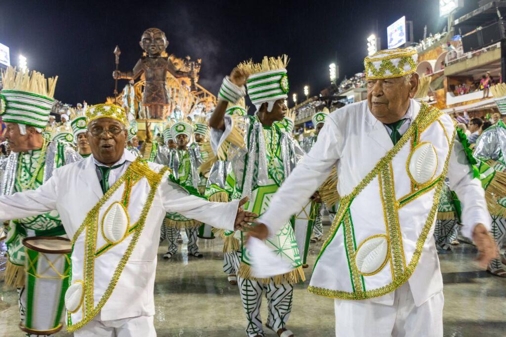 Flavinho Machado e Heraldo Faria foto Hyrinea Borneo Morre Flavinho Machado, um dos maiores compositores de samba do Brasil