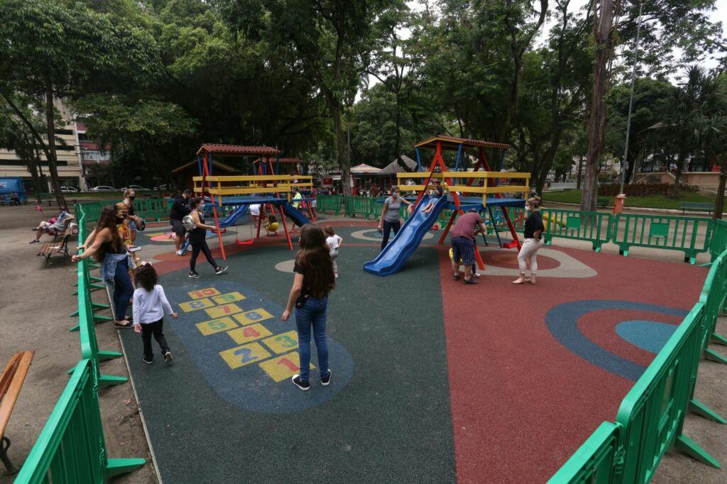 Novo parquinho infantil do Campo de Sao Bento foto divulgacao Douglas Macedo 1 Campo de São Bento ganha tour virtual