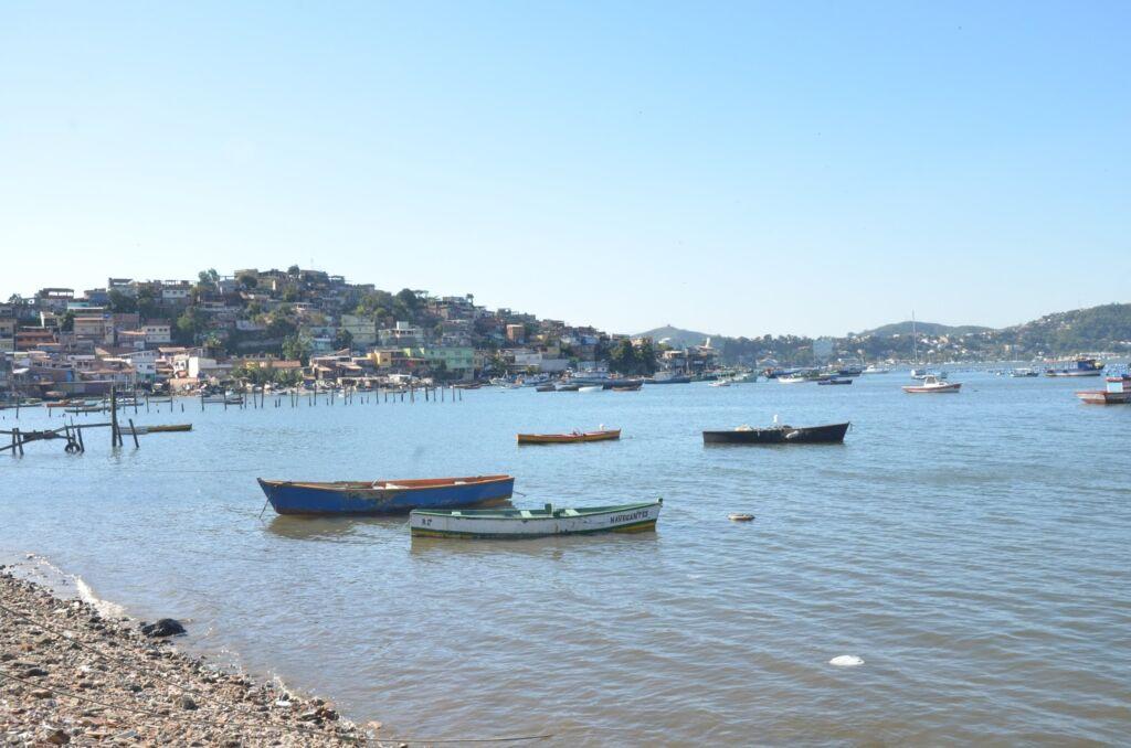 enseada da colonia de pescadores de Jurujuba foto Luana Dias Recantos para admirar o por do sol na cidade de Niterói