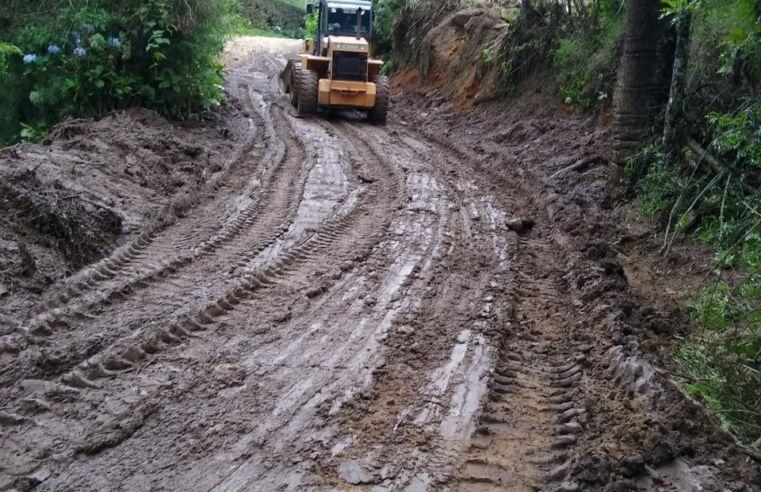 Trânsito liberado na estrada da Pedra da Macela, em Cunha (SP)