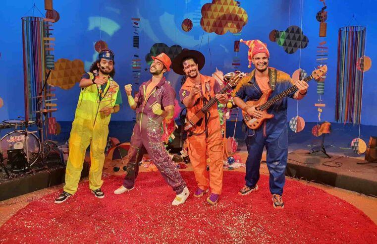 Grupo niteroiense Violúdico faz show infantil de carnaval na TV Brasil