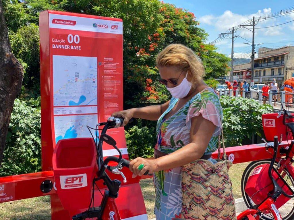 Vermelhinhas Foto 2 Marcos Fabricio Bicicletas compartilhadas e sem tarifas em Maricá