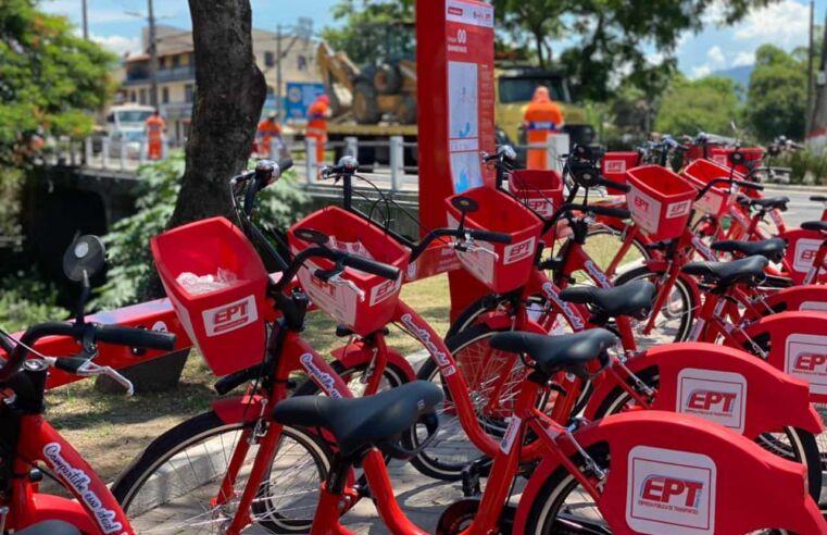 Bicicletas compartilhadas e sem tarifas em Maricá