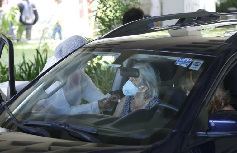 Vacinação no drive thru do Campus Gragoatá está suspensa