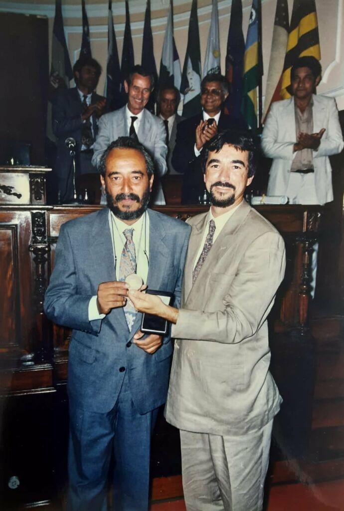 Mario Dias e Bagueira O Adeus a Mário Dias