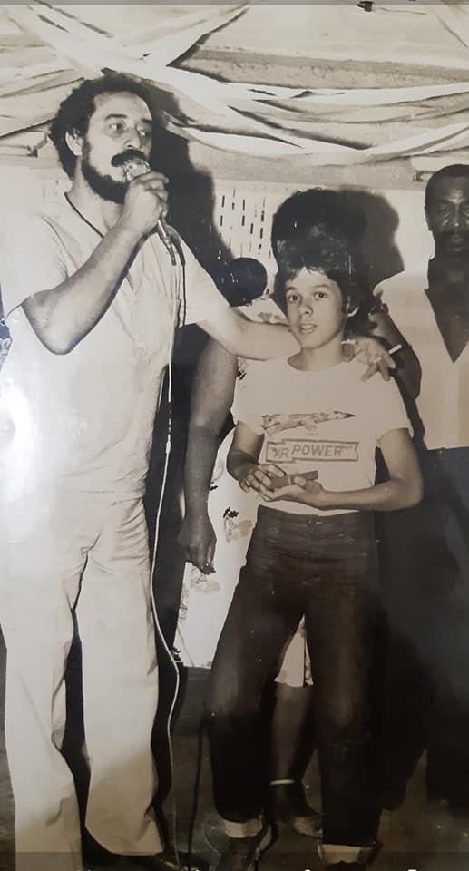 Mario Dias e o filho Mario Jose foto acervo familiar Meu pai, meu ídolo