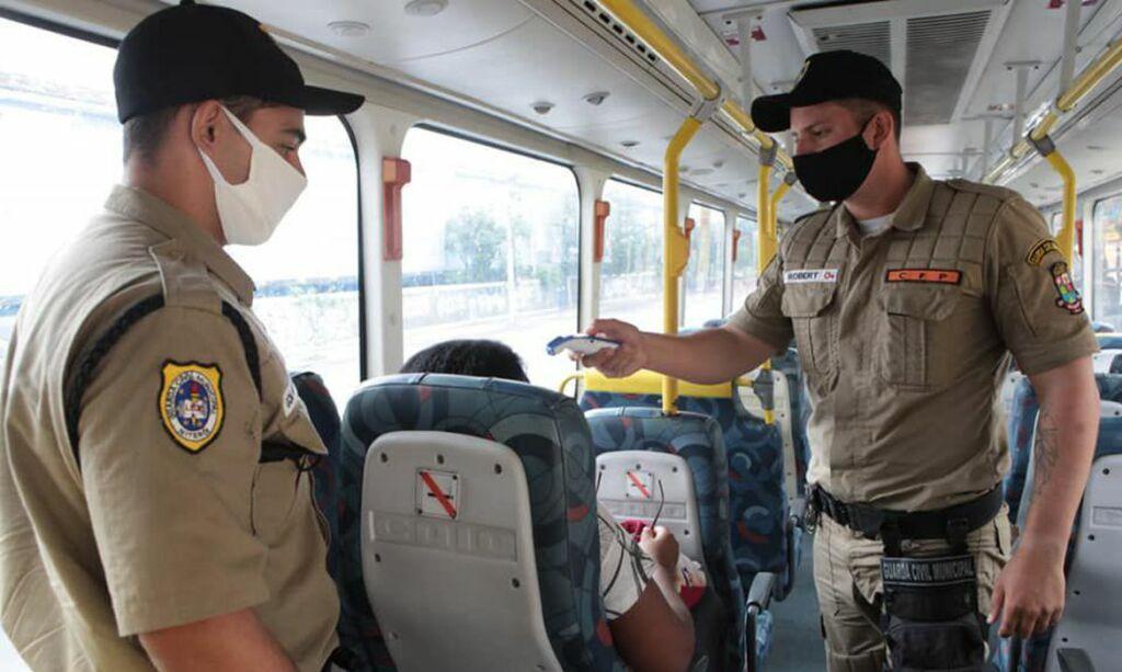 barreiras sanitarias niteroi fiscalizacao Barreiras sanitárias em Niterói terão distribuição de máscara