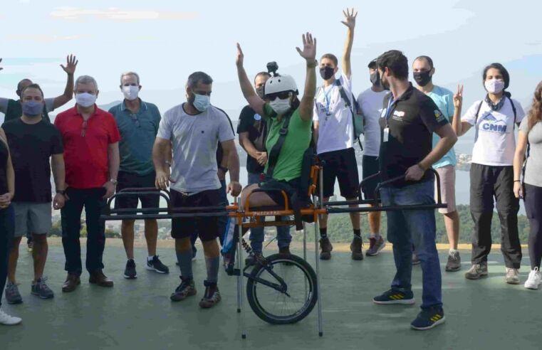Passeio gratuito em Niterói com trilhas acessíveis para pessoas com deficiência
